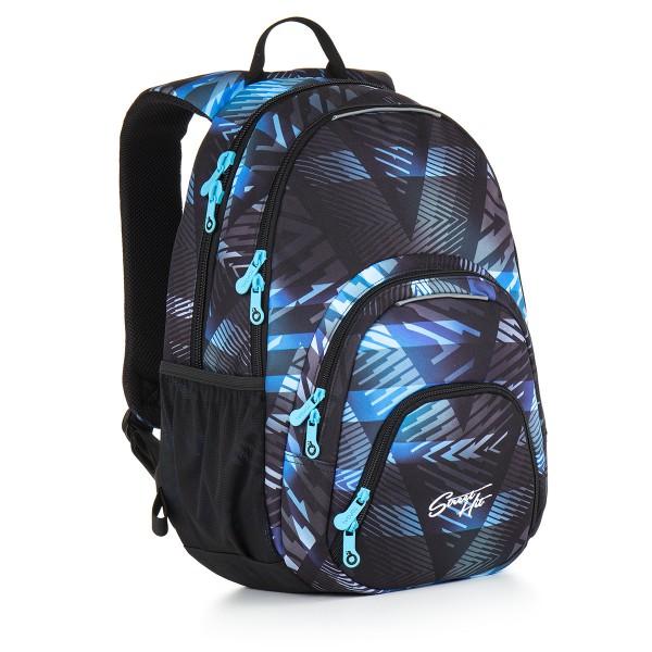 Studentský batoh Topgal HIT 886 D – Blue