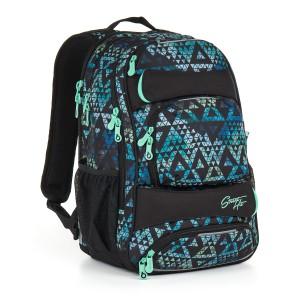 Studentský batoh Topgal HIT 888 E – Green