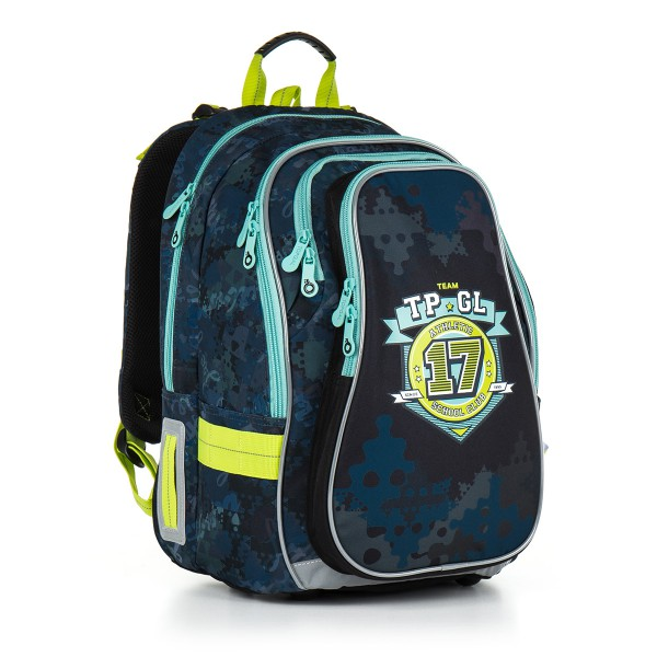 Školní batoh Topgal CHI 878 D – Blue