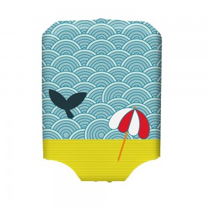 BG Berlin Hug Cover M Light Whale