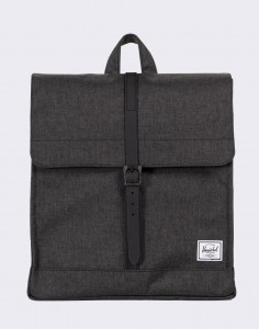 Batoh Herschel Supply City Mid-Volume Black Crosshatch/Black Rubber