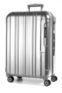 March Cestovní kufr Cosmopolitan Special Edition 115 l – stříbrná