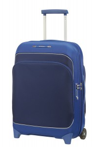 Samsonite Kabinový cestovní kufr Fuze 35/42,5 l – modrá