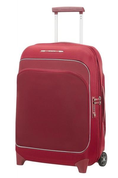 Samsonite Kabinový cestovní kufr Fuze 35/42,5 l – červená
