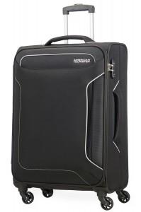 American Tourister Cestovní kufr Holiday Heat Spinner 50G 66 l – černá