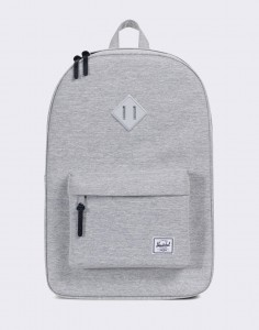 Batoh Herschel Supply Heritage Light Grey Crosshatch