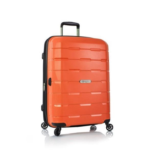 Heys Zeus Duraflex M Orange cestovní kufr na 4 kolečkách TSA 66 cm
