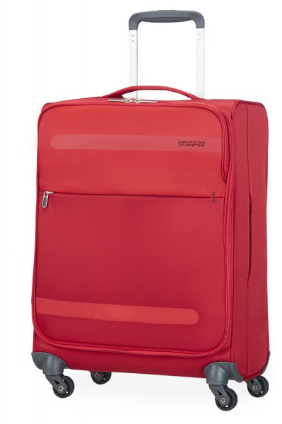 American Tourister Kabinový cestovní kufr Herolite Super Light Spinner 26G*002 42 l – červená