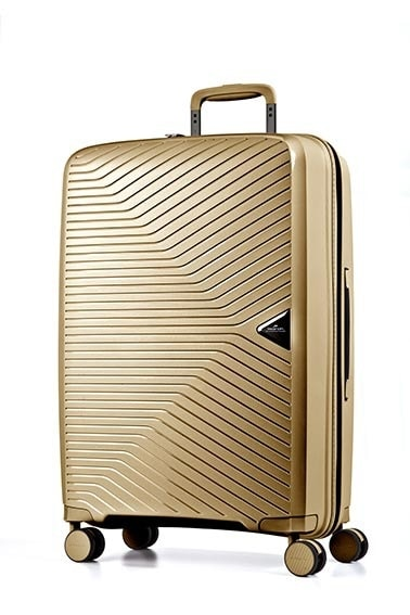 March Kabinový cestovní kufr Gotthard 39 l – zlatá
