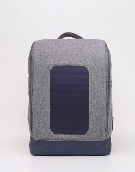Batoh Knowledge Cotton Solar Backpack Small 1133 Monument Grey Mix