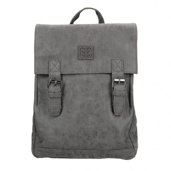 Moderní dámský batoh Enrico Benetti Vilma – šedá