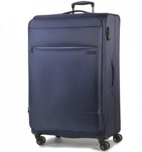 ROCK TR-0161 DeLuxe-Lite L Navy ultralehký cestovní kufr na 4 kolečkách TSA 83 cm 2,9 kg
