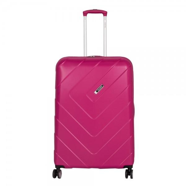 Travelite Cestovní kufr Kalisto L Pink 74449-17 106 l