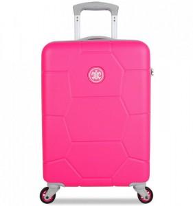 SUITSUIT Caretta S Hot Pink palubní kufr na 4 kolečkách 55 cm