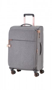 Titan Cestovní kufr Barbara 4w M Grey 67 l