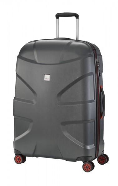 Titan Cestovní kufr X2 4w L Black brushed 103 l