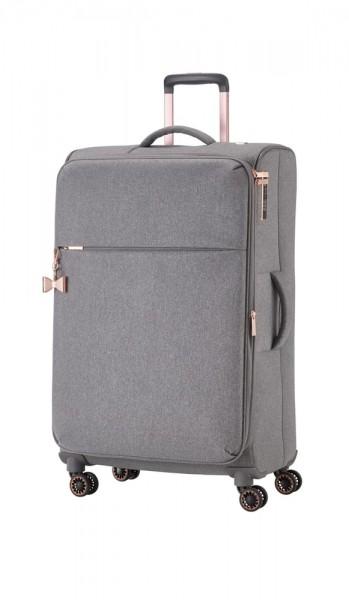 Titan Cestovní kufr Barbara 4w L Grey 94 l