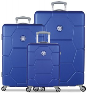 SUITSUIT TR-1225/3 Caretta Dazzling Blue – sada 3 kufrů