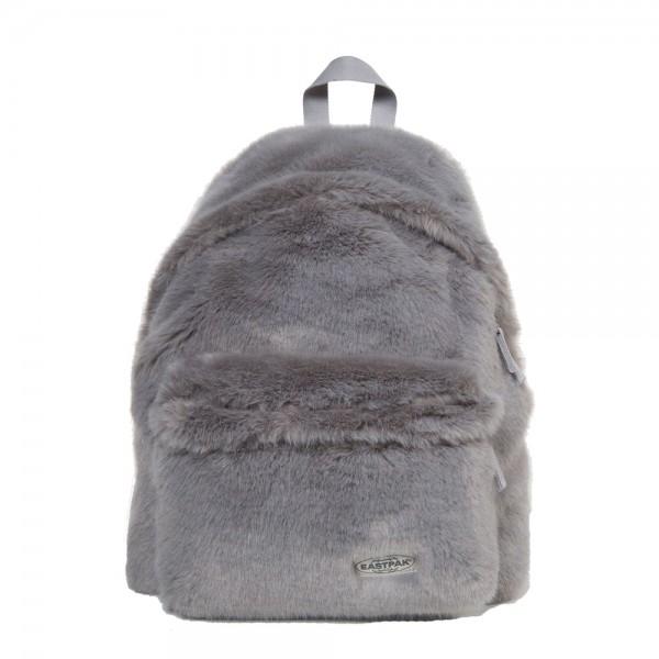 EASTPAK Dámský batoh Padded Pak´r Grey Fur EK62011U 24 l