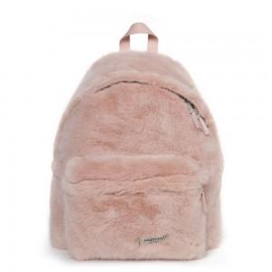 EASTPAK Dámský batoh Padded Pak´r Pink Fur EK62010U 24 l