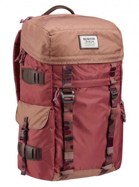 Burton Annex Pack Rose Brown Flight Satin