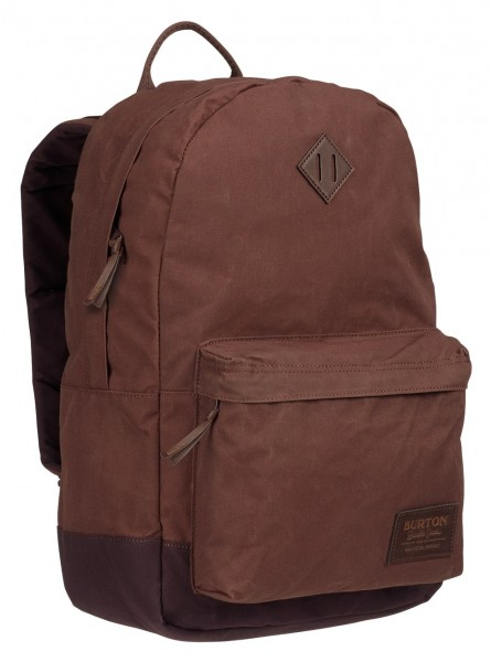 Burton Kettle Pack Cocoa Brown Waxed Canvas