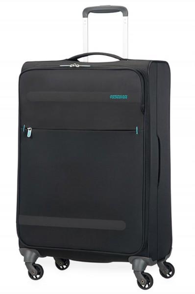 American Tourister Cestovní kufr Herolite Super Light 26G*005 68 l – černá