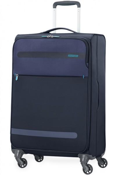 American Tourister Cestovní kufr Herolite Super Light 26G*005 68 l – tmavě modrá