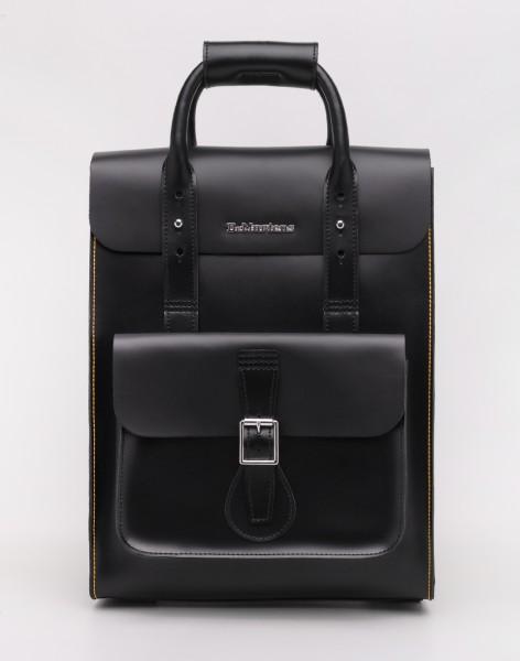 Batoh Dr. Martens Small Leather Backpack Black Kiev