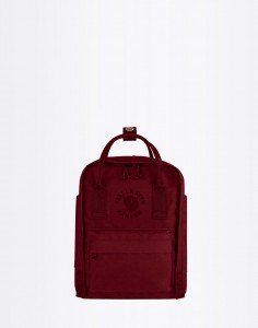 Batoh Fjällräven Re-Kanken Mini Ox-Red