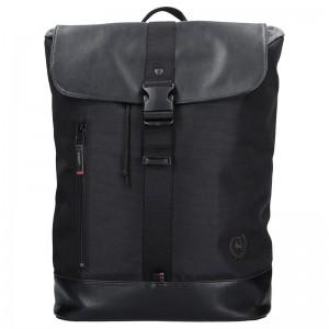 Pánský vintage batoh Lerros David – černá