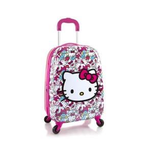 Heys Kids Tween Spinner Hello Kitty dětský cestovní kufr na 4 kolečkách 51 cm