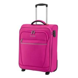 Travelite Cabin 2w S Berry ultralehký palubní kufr na 2 kolečkách 55 cm 1,9 kg