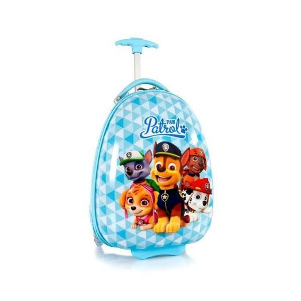 Heys Kids 2w Paw Patrol Blue dětský skořepinový cestovní kufr 46 cm