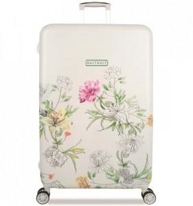 SUITSUIT 10th Anniversary L English Garden cestovní kufr na 4 kolečkách TSA 77 cm