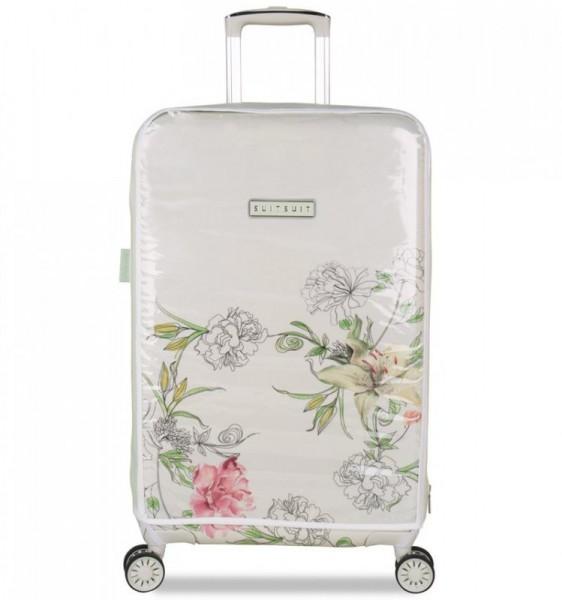 Obal na cestovní kufr SUITSUIT 67 cm vel. M – průhledný