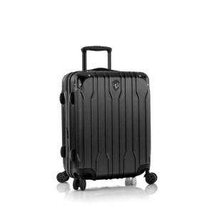 Heys Xtrak S Black palubní cestovní kufr na 4 kolečkách TSA 53 cm