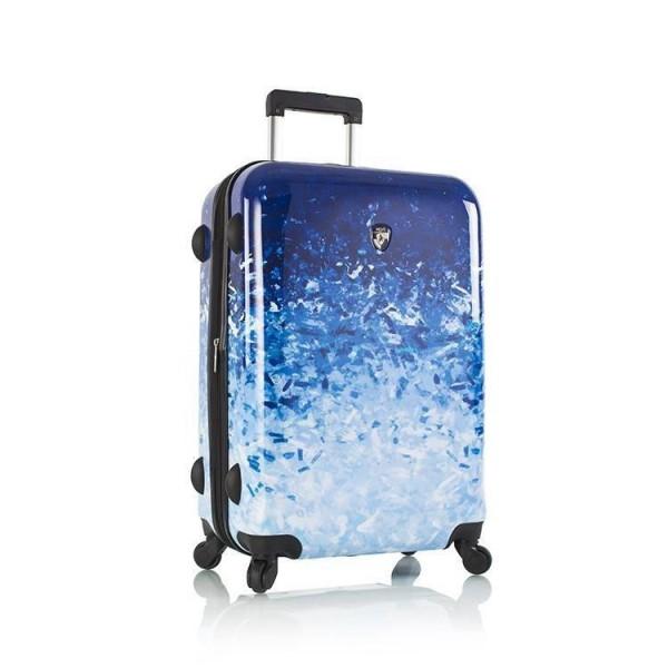 Heys Blue Skies M polykarbonátový cestovní kufr na 4 kolečkách 66 cm