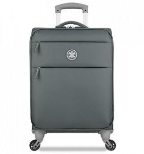 SUITSUIT Caretta Soft S Cool Grey palubní cestovní kufr na 4 kolečkách 55 cm