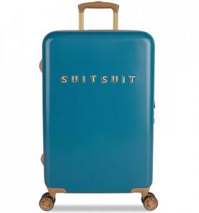 SUITSUIT Fab Seventies M Seaport Blue cestovní kufr na 4 kolečkách TSA 67 cm