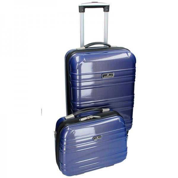 Sada dvou cestovních kufrů Madisson Elma – modrá