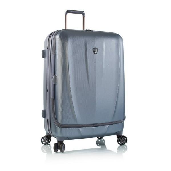 Heys Vantage Smart L Slate Blue exkluzivní cestovní kufr na 4 kolečkách TSA 76 cm