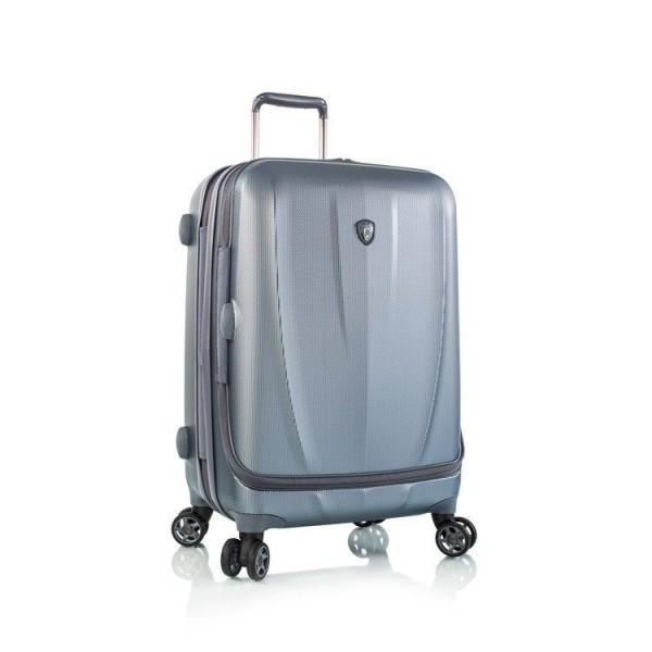 Heys Vantage Smart M Slate Blue exkluzivní cestovní kufr na 4 kolečkách TSA 66 cm