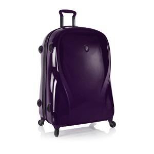 Heys xcase 2G L Ultra Violet špičkový skořepinový kufr na 4 kolečkách TSA 76 cm