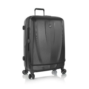 Heys Vantage Smart L Black exkluzivní cestovní kufr na 4 kolečkách TSA 76 cm