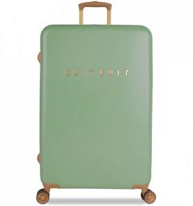 SUITSUIT Fab Seventies L Basil Green cestovní kufr na 4 kolečkách TSA 77 cm