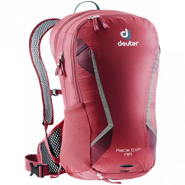 Cyklistický batoh DEUTER Race EXP Air cranberry-maron