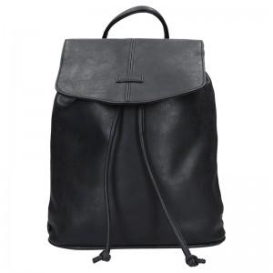 Moderní dámský batoh Piace Molto Adriana – černá