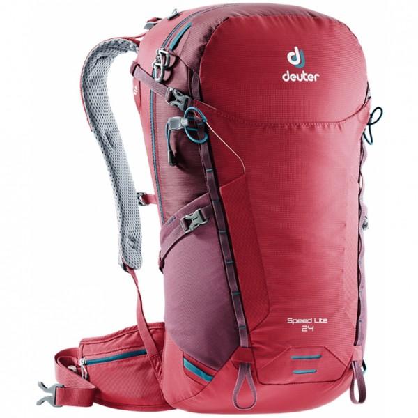Turistický batoh DEUTER Speed Lite 24 cranberry-maron