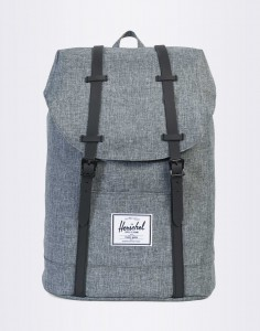 Batoh Herschel Supply Retreat Raven Crosshatch/Black